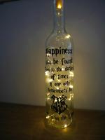 Spell Bottle LED Light Harry Potter Inspired HP Quote Christmas Kids gift Lamp