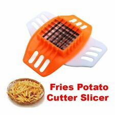 Potato French Fires Slicer  Cutter Vegetable Chopper Stainless Steel Fruit Dicer