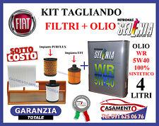 KIT TAGLIANDO FILTRI + OLIO SELENIA 5W40 LANCIA Y YPSILON 1.3 MULTIJET 2003-2011