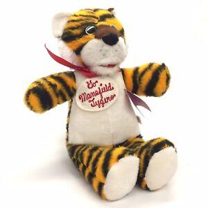 "Princess Soft Toys Lil Safari 17"" Plush Toy Mansfield OH Tygers School Mascot"