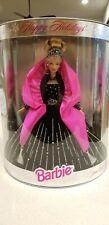 Barbie1998 Happy Holidays Mattel #20200 Nrfb Beautiful Doll!