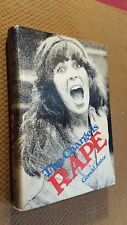 The Charge is Rape by Gerald Astor (1974, Hardcover w/DJ) RARE First Edition