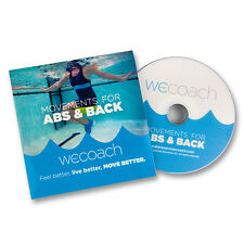 Nekdoodle Pool Exercise Wecoach Movements for Abs & Back DVD Aquatic Fitness