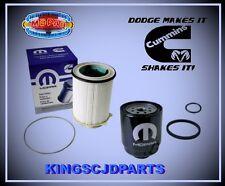 Fuel Filter Set Front & Rear Fuel Water Separator Dodge Ram 6.7 Turbo Diesel OEM