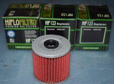 3 filtres à huile Hiflofiltro HF123 KAWASAKI KL KLR 250 600  650 KLX 650 R