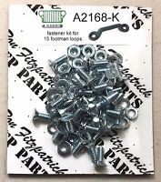 Jeep Willys MB Ford GPW A2168-K mount 15 footman Loop hardware Fastener Kit G503