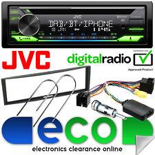 Renault Megane 2005-08 JVC DAB Bluetooth CD MP3 Car Stereo & Steering Wheel Kit