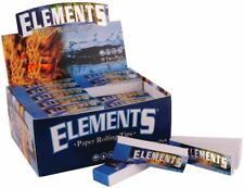 Elements Premium Rolling Filter Tips Chemical Free Box of 50