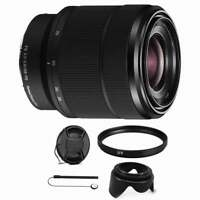 Sony SEL2870 FE 28-70mm f/3.5-5.6 OSS Full Frame E-Mount Lens with Accessories