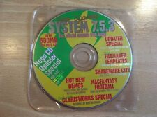 La revista de Julio de 1996 MAC CD Rom demostraciones shareware software Apple Macintosh