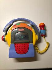 Fisher Price Kinder Kassettenrecorder mit Mikrofon und Kassetten