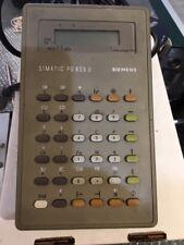 Siemens Simatic PG605U Hand Held Programming Unit