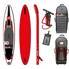 Red Max Race 10,6 sup completamente set stand up paddle board hinchable red sup