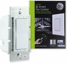 Ge Z-Wave Plus In-Wall Smart Fan Control Rocker Switch Zw4002 - New Sealed