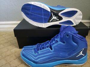 New Nike Jordan Aero Mania, Size 9.5, Flywire, Gym Blue, Very Light Weight