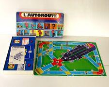 Ancien jeu de Société -  L'AUTOROUTE - Ed Dujardin - Année 70 - Complet