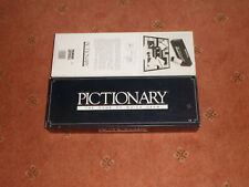 PICTIONARY BY PARKER THE GAME OF QUICK DRAW 1987 VGC