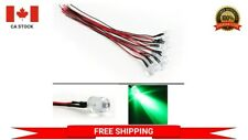 5 x Pre wired 12V 5mm Green LED Prewired 12 volt DC LED Light Arduino Projects