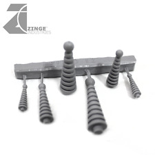 Zinge Industries Tesla Coils Set of 6 High Quality New Scenery Bits S-TES01