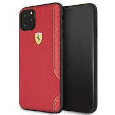 Ferrari Hard Case iPhone 11 Pro Max PU Leather Red 360 degree PROTECTION