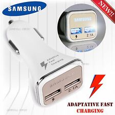 FAST CHARGER SAMSUNG LED CAR DUAL USB New OEM S6 Note 2 4 5 Port Adaptive RAPID