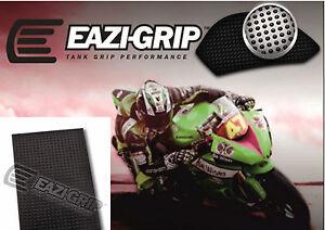 Eazi-Grip™ 'Evo'  Motorcycle Knee Grip Protector Traction Pad  – Black sheet x 2
