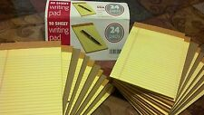"24 × tops Writing Pads Yellow 50 Sheet each 5"" x 8"" legal rule,☆ FREE SHIPPING ☆"