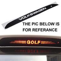 1 Pcs Carbon Fiber High Brake Light Cover Sticker For VW GOLF MK 6 POLO TIGUAN