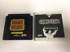 Game Genie Video Game Enhancer with Book (Sega Genesis) Tested Working