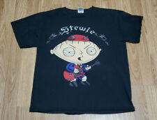 Stewie Griffin Dressed as Angus Young T Shirt M Medium AC/DC Family Guy Guitar