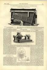 1888 Babcock and Wilcox Caldera Hett Bomba Centrífuga Yates Calentador de agua