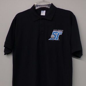 Las Vegas 51s Baseball Mens Embroidered Polo XS-6XL, LT-4XLT Mets Stars Area New