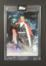 Tyson Fury Signature Performance /75 Autogramm Karte - Blue - Topps