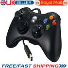 2017 Xbox 360 Controller USB Wired Game Pad For Microsoft Xbox 360 Windows PC UK