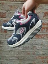 Skechers SHAPE UPS Navy Blu Rosa Grigio Tg UK 5.5 EUR 38.5 grosse Retrò Mamma
