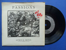 The Passions - Africa Mine / I Feel Cheap, Polydor POSP-384 Ex Condition A1/B1
