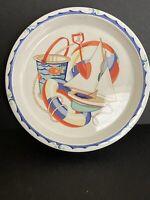 "NEW! Tiffany & Co. Japan TIFFANY SEASHORE Child's Cereal Soup Rimmed Bowl 6 3/8"""