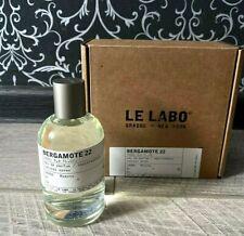 LE LABO BERGAMOTE 22 3.4oz Unisex Eau de Parfum 100ml New with box