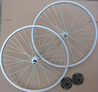 """26"""" Bicycle Mountain Bike Cycle Wheels Front &/or Rear add Shimano 6 / 7 Speed"""