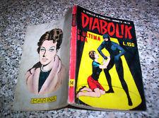 DIABOLIK ANNO V N.14 ORIGINALE 1966 BUONO TIPO NERI KRIMINAL SATANIK KILLING