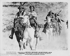 ORIGINAL 1972 MOVIE STILL-BUCK AND THE PREACHER-SIDNEY POITIER-RUBY DEE-HORSES