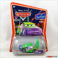 Disney Pixar Cars Wingo Green Import Supercharged series
