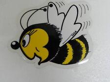 Aufkleber Biene 9,5x8 cm,Imkerei,Imker, Bienen,bee,bees