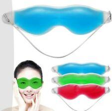 Soothing gel eye mask. Cooling, blue. New. UK Seller.
