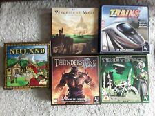 Brettspiel fünf verschiedene Spiele