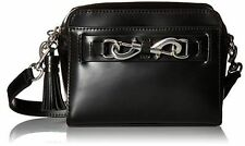 NWT Authentic Rebecca Minkoff Florence Camera Bag Handbag Purse Black/silve $195