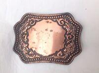 Western Cowboy Country Belt Buckle Vintage American Retro Classic