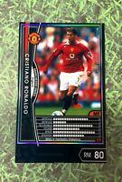 Panini WCCF FootistaVer. Cristiano Ronaldo cards rc 2004~2009 Manchester United