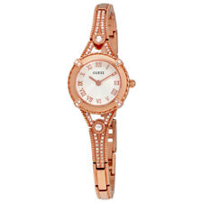 Guess Angelic Rose Dial Ladies Rose Gold Tone Watch W0135L3