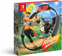 Nintendo Switch Ring Fit RingFit Adventure Japanese Ver Standard Edition